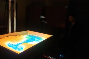 """""""Augmented Reality Sandbox (Piasek i rozszerzona rzeczywistość)"""