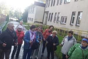 Spacer edukacyjny - zajęcia terenowe dla UTW w Starachowicach  (październik 2020 r.)